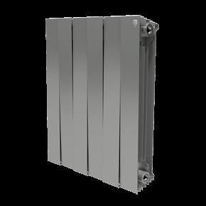 Радиатор PianoForte 500/Silver Satin - 4 секц.