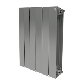 Радиатор PianoForte 500/Silver Satin - 12 секц.